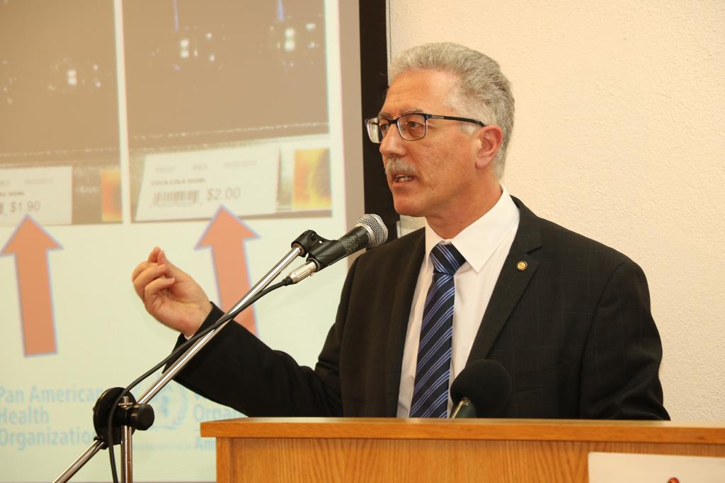 Dr Godfrey Xuereb, PAHO/WHO Representative, Barbados