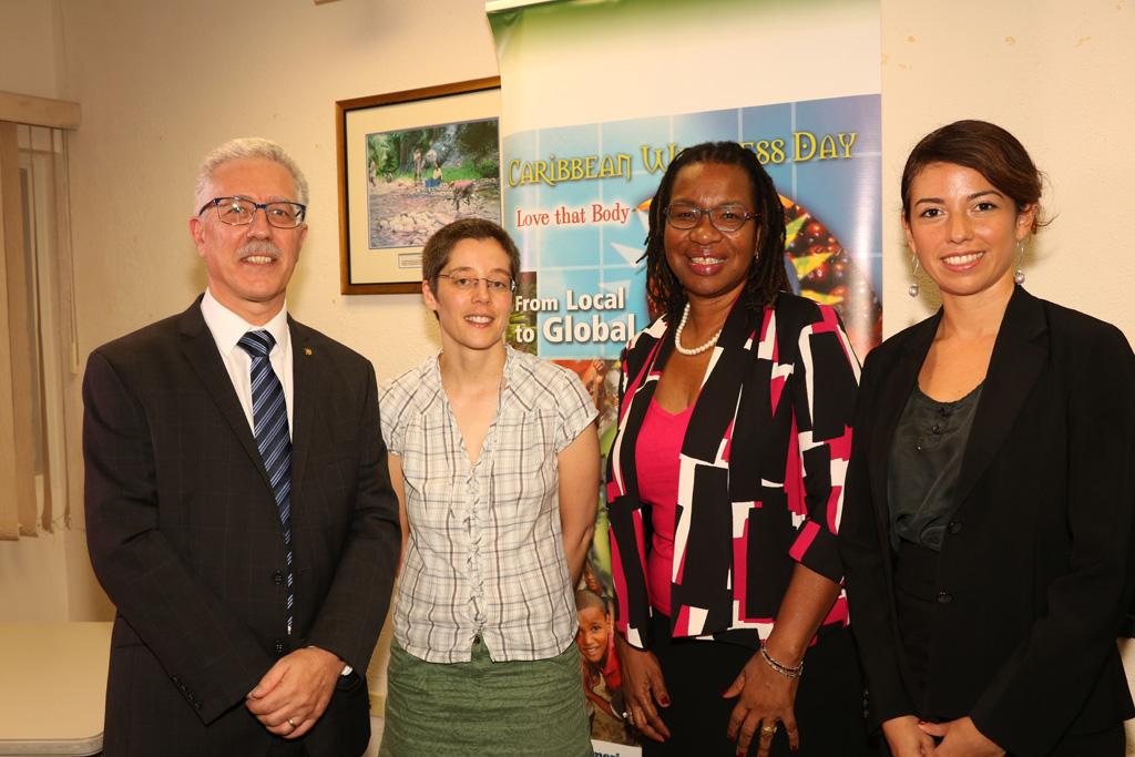 Dr Godfrey Xuereb, Dr Jean Adams, Dr Alafia Samuels and Ms Miriam Alvarado