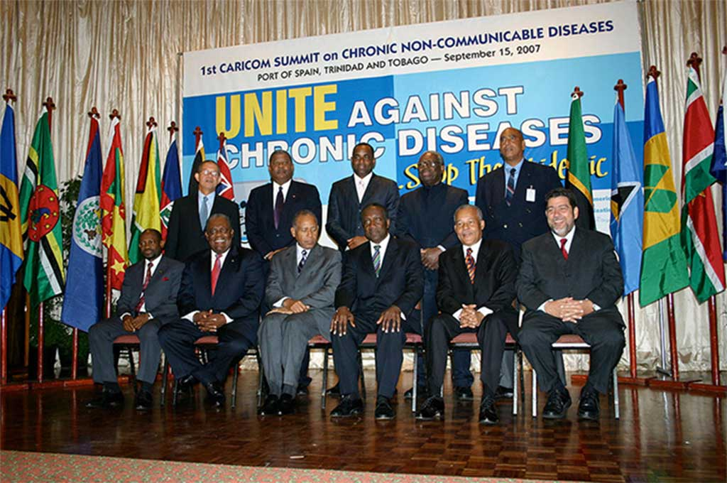 In 2007, the CARICOM heads of government signed the landmark Port of Spain declaration on NCDs