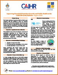 FaN Bulletin August 2018