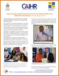 FaN Bulletin July & August 2019